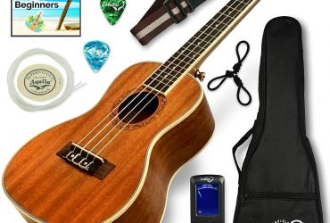 Ukulele Concert Size Bundle From Lohan